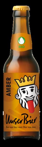 Amber: das erste Bier, das Unser Bier auf den Markt brachte