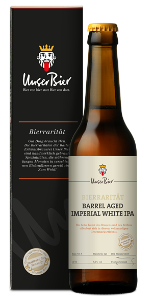 Barrel Aged Imperial White IPA