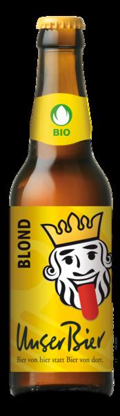 Blond: das meistverkaufte Bier von Unser Bier